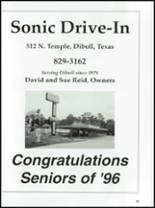 1996 Diboll High School Yearbook Page 136 & 137