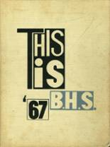 1967 Yearbook Bridgeton High School