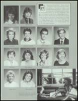 1987 Wauconda High School Yearbook Page 20 & 21