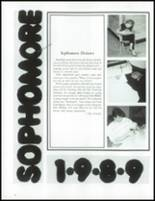1987 Wauconda High School Yearbook Page 42 & 43