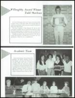 1987 Wauconda High School Yearbook Page 116 & 117
