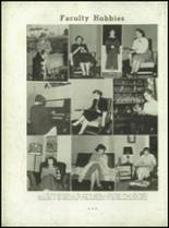 1953 Christiansburg High School Yearbook Page 22 & 23