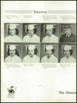 1953 Christiansburg High School Yearbook Page 26 & 27