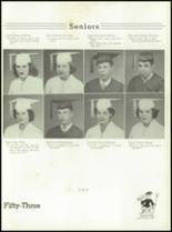 1953 Christiansburg High School Yearbook Page 28 & 29
