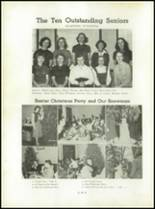 1953 Christiansburg High School Yearbook Page 32 & 33