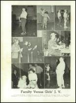 1953 Christiansburg High School Yearbook Page 108 & 109