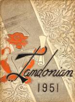 1951 Yearbook Landon High School