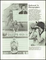 1983 Gillespie Community High School Yearbook Page 42 & 43