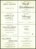 1958 Remsen Central High School Yearbook Page 54 & 55