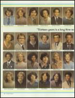 1980 Battle Creek Central High School Yearbook Page 110 & 111