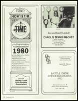 1980 Battle Creek Central High School Yearbook Page 222 & 223