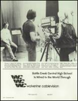 1980 Battle Creek Central High School Yearbook Page 226 & 227