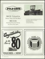 1980 Battle Creek Central High School Yearbook Page 228 & 229
