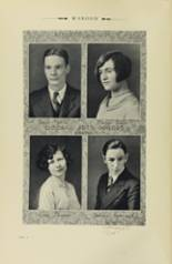 1928 Johnson High School Yearbook Page 20 & 21
