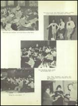 1956 Monroe High School Yearbook Page 20 & 21