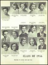 1956 Monroe High School Yearbook Page 24 & 25