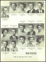 1956 Monroe High School Yearbook Page 26 & 27