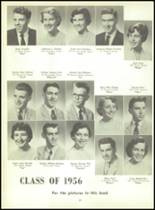 1956 Monroe High School Yearbook Page 28 & 29