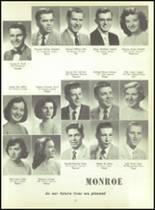 1956 Monroe High School Yearbook Page 30 & 31