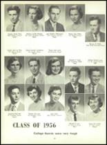 1956 Monroe High School Yearbook Page 32 & 33