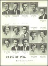 1956 Monroe High School Yearbook Page 34 & 35