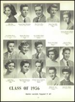 1956 Monroe High School Yearbook Page 36 & 37
