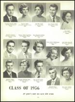 1956 Monroe High School Yearbook Page 38 & 39