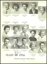 1956 Monroe High School Yearbook Page 40 & 41