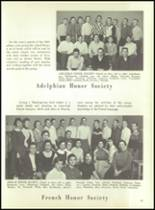 1956 Monroe High School Yearbook Page 48 & 49