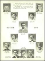 1956 Monroe High School Yearbook Page 50 & 51