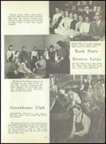 1956 Monroe High School Yearbook Page 54 & 55