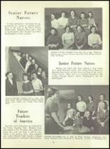 1956 Monroe High School Yearbook Page 56 & 57