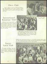 1956 Monroe High School Yearbook Page 58 & 59