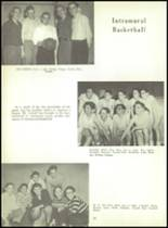 1956 Monroe High School Yearbook Page 84 & 85