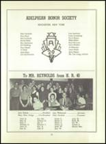 1956 Monroe High School Yearbook Page 98 & 99