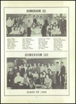 1956 Monroe High School Yearbook Page 100 & 101