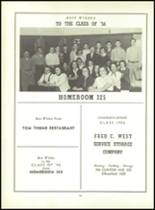 1956 Monroe High School Yearbook Page 102 & 103