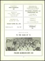 1956 Monroe High School Yearbook Page 104 & 105