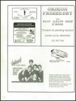 1989 West Albany High School Yearbook Page 152 & 153