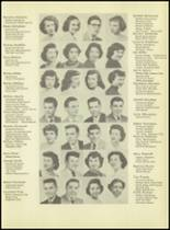 1953 Western International High School Yearbook Page 12 & 13