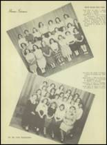 1953 Western International High School Yearbook Page 18 & 19