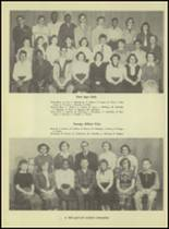 1953 Western International High School Yearbook Page 20 & 21
