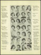 1953 Western International High School Yearbook Page 24 & 25
