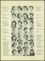 1953 Western International High School Yearbook Page 26 & 27