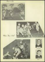 1953 Western International High School Yearbook Page 36 & 37