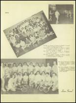 1953 Western International High School Yearbook Page 42 & 43