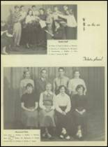 1953 Western International High School Yearbook Page 58 & 59