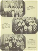 1953 Western International High School Yearbook Page 60 & 61