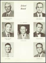 1957 Sunray High School Yearbook Page 10 & 11