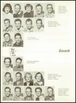 1957 Sunray High School Yearbook Page 40 & 41